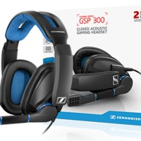 Jual Sennheiser Gaming Headset GSP300 / GSP 300 for PC Mac PS4 - Black Murah