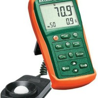 Extech EA33 ea 33 Light meter Lux Digital ukur sampai 99.990FC Fc asli