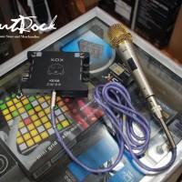 XOX Paket Mic & Soundcard Untuk Karaoke Online Murah Di Bandung