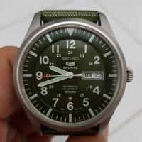 Jual Seiko 5 Military Sports SNZG09K1 Automatic Green Dial Murah