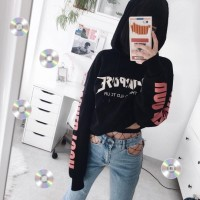 Jaket Crop/Sweater/Hoodie Crop Purpose Tour