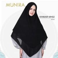 Jual Khimar Ceruty 2 Layer Munira MH02 Murah