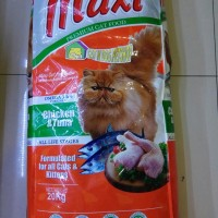 Makanan Kucing MAXI CAT All Cat & Kitten 20kg Chicken Tuna (GO-JEK)