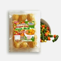Jual nugget ayam bola vege mix non MSG Murah