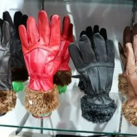 sarung tangan kulit /wanita