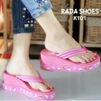 Jual Sandal hello kitty khafella shoes Murah