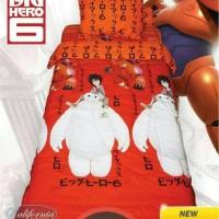 bedcover onlymy love california 120 x 200 baymax sprei merah