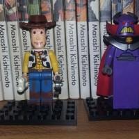LEGO TOY STORY MINIFIGURES WOODY & Emperor Zurg
