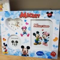 Jual Frame Foto dan Jam Mickey Minnie Mouse Murah