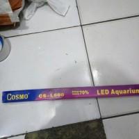 Harga aquarium ikan hias lampu led celup cosmo 60   antitipu.com