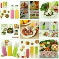 Jual Bento Decorating Food Drawing Pen/Pena Dekorasi Bento Isi 3 Murah