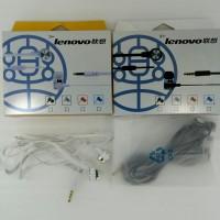 Handsfree Earphone Headset LENOVO Ori 99% Panjang 120cm