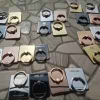 RING BESI BRANDED CHROOM / IRING RING STAND / HOLDER HP / CINCIN HP