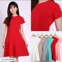 Jual Xalyara Plain Flare Mini Dress Murah