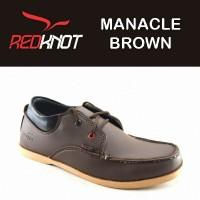Jual JUAL sepatu pria REDKNOT MANACLE BROWN IRLAND Warna coklat terbaru Murah