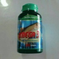 Minyak ikan Nutrimax Omega 3 with vitamin E