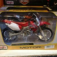 Jual DIECAT MOTOR TRAIL HONDA 1/12 MAISTO Murah