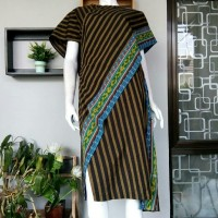 Jual Dress Lurik Tenun Batik Wanita Murah