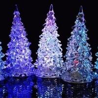 Jual lampu pohon natal acrylic christmas eve kado Murah