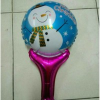Jual balon foil/balon pentung natal snowman Murah