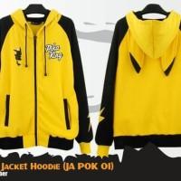 Jual Jaket Anime Pokemon Pikachu King Jacket Hoodie (JA POK 01) Murah