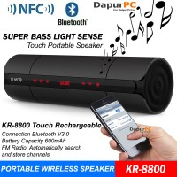 Portable Speaker Bluetooth NFC Super Bass with Led Display