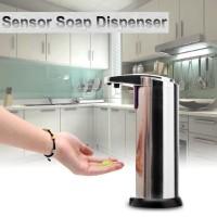 Jual Dispenser Sabun Otomatis Stainless Steel Sensor Automat Diskon Murah