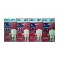 Lampu LED Philips 3 watt Bohlam LED Philip 3w Philip Putih 3 w PROMO