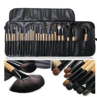 brush set black isi 24 pcs/ brush make up for you