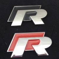 Jual i-Emblem R Racing, VW, Type R, Wagon R, R line, GTR, Mugen R, R/T Murah