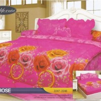 Jual Sprei Rumbai California Disperse Uk.180 X 200 Motif Pin Diskon Murah