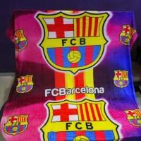 Jual Selimut Flanel Fata Uk.150 X 200 Motif Barcelona Limited Murah