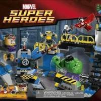LEGO SUPER HEROES AVENGERS : HULK SMASH LAB 76018