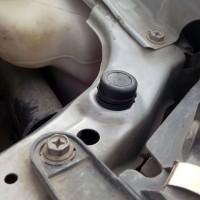 Karet stoper kap mesin nissan serena C24 C23 sentra new 65822-01M00