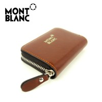 Jual Dompet kartu card holder import PREMIUM MONT BLANC TUTU BROWN Murah