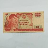 Jual Uang Kuno 100 Rupiah Tahun 1968 Edisi Jendral Soedirman Murah