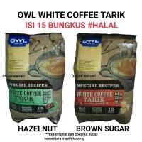 Jual OWL WHITE COFFEE TARIK KOPI ISI 15 SINGAPORE Murah