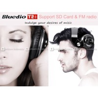 Jual  Bluedio Turbine T2  Headphone Bluetooth Card Slot   FM Radio   Hi T19 Murah