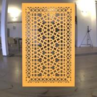 jual sekat ruang tamu minimalis motif geometrik1 - kota