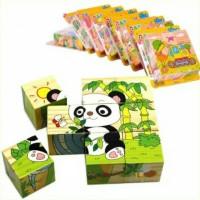 Jual Promo BRG-170170 Mainan edukatif / edukasi anak puzzle kayu 6 in 1 3D Murah