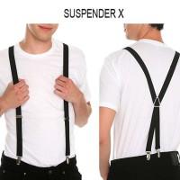 Jual tas pria murah Suspender X Murah