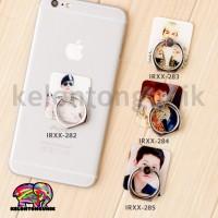 Jual Korea Oppa iRing/ Ring Holder/ Cincin HP / Ring Stand Karakter Seri 37 Murah