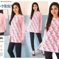 Jual ST HK PINK FT setelan wanita spandek pink Termurah Murah