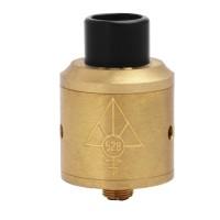 Jual  528 Custom Vapes Goon RDA 24 RDA Atomizer - BRASS [Authentic]  Murah