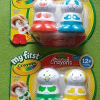Paket bonus crayola my first washable crayon 2 set
