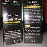 Black Mask Purifying Peel Off Shills Komedo Jerawat