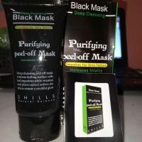 Black Mask Purifying Peel Off Shills Komedo Jerawat