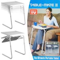 Table Mate II Meja Laptop Lipat Portable Laptop - White