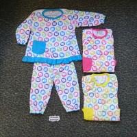 SPY65 Setelan BajuBayi Perempuan Piyama Baju Tidur Motif Hello Kitty S