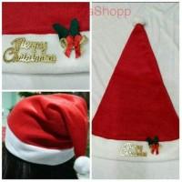 Jual Topi Natal/topi Santa/topi merry christmas K751 Murah